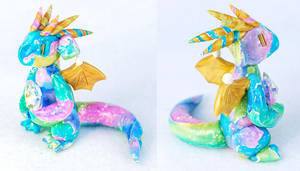 Rainbow Opal Dragon by HowManyDragons