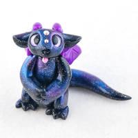 Little Begging Galaxy Dragon by HowManyDragons