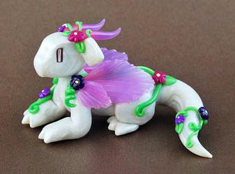 Fairy Flower Dragon by HowManyDragons