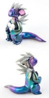 Rainbow Heart Dragon by HowManyDragons