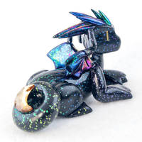 Spacey Faux-Dichro Moon Dragon by HowManyDragons