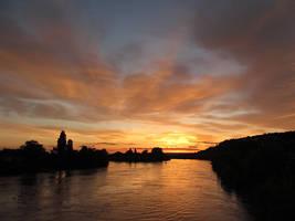 A Rhenish sunset by irrlicht71