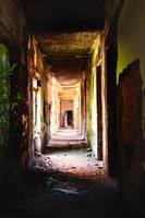 Hallway of forgotten screams by ErCinghialotto
