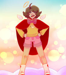 Bee and Puppycat - Cloudworld Bee by Genesis-of-11
