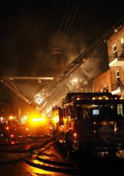 Fire Truck Scene by BeauW