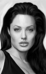 Angelina Jolie by sameehismail