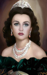 Princess Fawzeya of the late Egyptian royal family by sameehismail