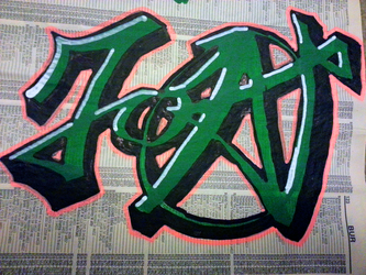 JOAT Phone book graffiti Practice 002 by obsleet