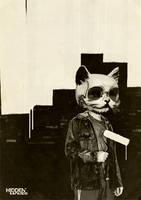 Roller Cat by hiddenmoves