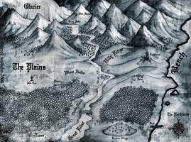 'Northlands' Map by DerekWalborn
