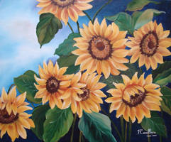 Sunflowers by artedafefe