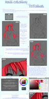 Hair Coloring Tutorial by tenzeru-chan