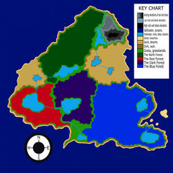 The Central Island Regional Map by theGLIMMERproject
