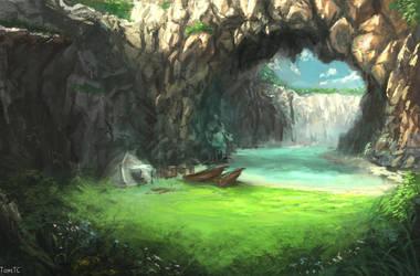 Cavern Gate by TomTC