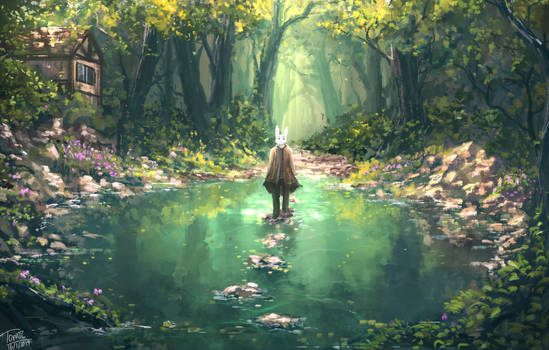 A Peaceful Stroll for The Mind by TomTC
