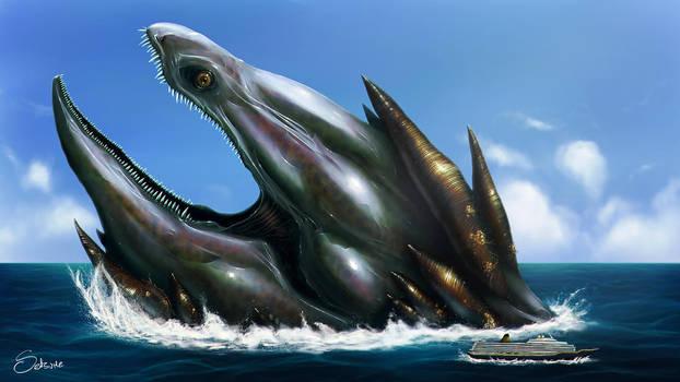the Leviathan by satsume-shi