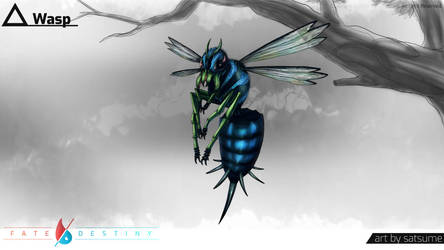 [C] Wasp by satsume-shi