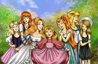 The blonds by AalienoOr