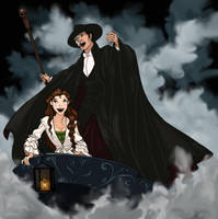 Phantom of the Opera by artofMilica