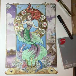 Andersen's The Little Mermaid by artofMilica