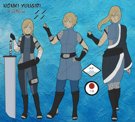 Nonki Yuugiri by LieutenantKer
