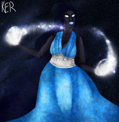 Lady of the Cosmos by LieutenantKer
