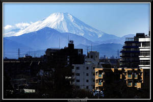 Mt Fuji yet again by jasebase