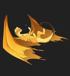 a dragon a day  by ElfEatsWorld2424