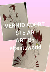 vernid adopt  by ElfEatsWorld2424