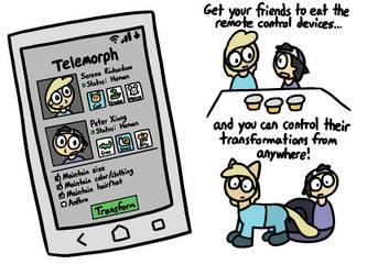 Telemorph by lizard-socks
