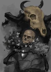 Wild Death Knight by rickrick