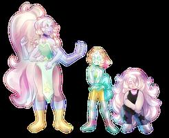 Steven Universe Fusion: Opal by Sandette