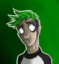 Jacksepticeye~ by galexy-candy