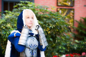 Saber Cosplay: Light Above Me by ashelikescake