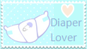 Diaper Lover Stamp by CupOfMapleCoffee
