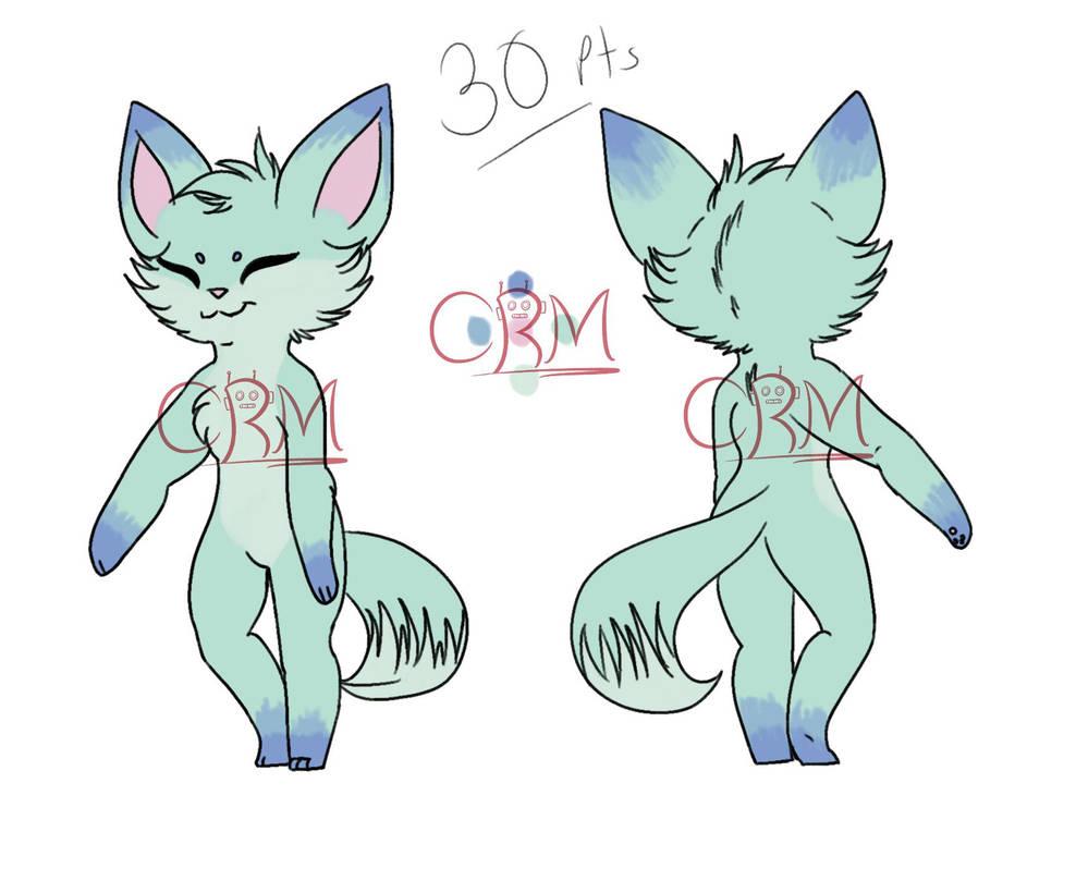Fox Adoptable OPEN by CheesyRobotMacaroni
