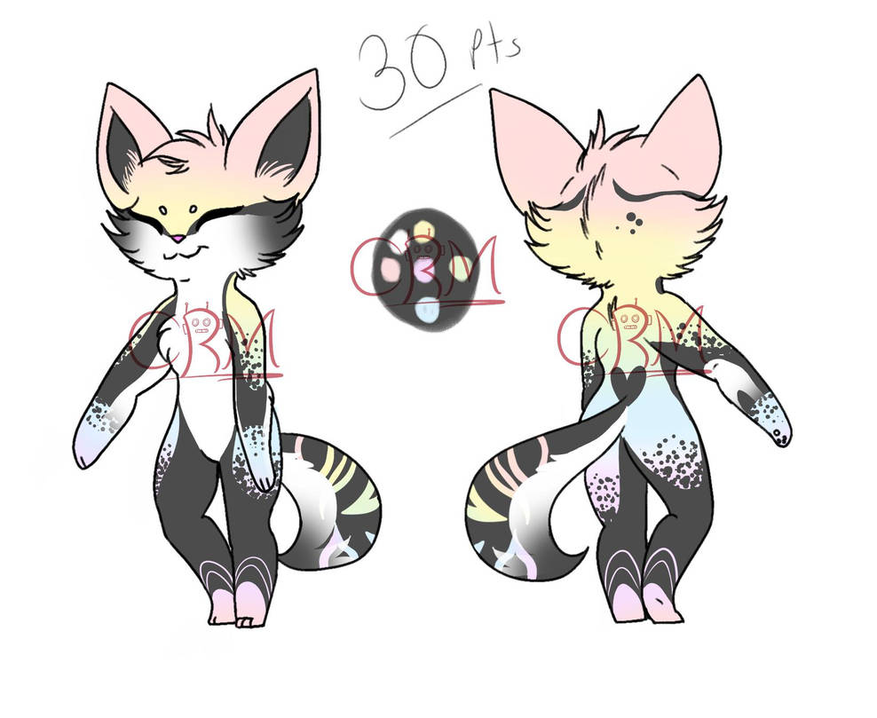 Fox Adoptable CLOSED by CheesyRobotMacaroni