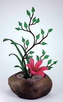 Ikebana Beaded Flower Arrangement by Lady-Blue