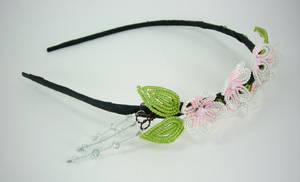 Cherry Blossom Headband View1 by Lady-Blue