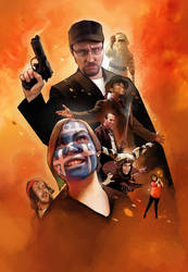 Nostalgia Critic - Cover by roninsketches