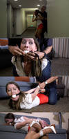 Grabbed and Gagged By Surprise by Finisterboy