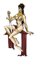 Dejah Thoris by blackangelofmine