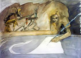 han ritning sin skiss by arqaissa