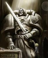 Iron knight by Comrade-Ogilvi
