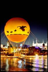 Disney Hot Air Balloon by Vamppy
