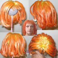 Custom Dollfie Doll BJD Wig 9 by Vamppy