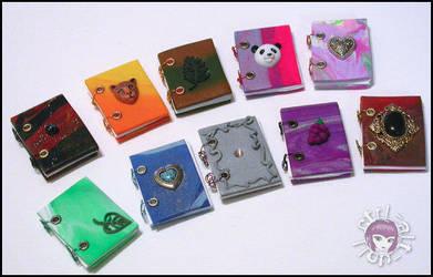 Dollfie Mini Polymer Journals by Vamppy
