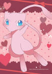 Mew Poster by Crystal-Ribbon