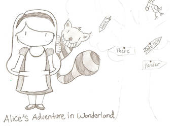 Alice in wonderland by LoveYouLongTime