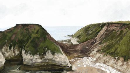 bempton cliffs 02 by jotunheiney